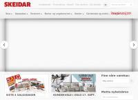 Nettsted av Skeidar Haugesund AS