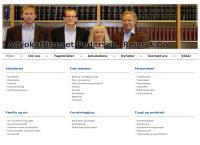 Nettsted av Advokatfirmaet Pedersen - Reier & Co AS