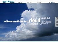 Nettsted av Samtext Norway AS