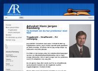 Nettsted av Advokat Hans Jørgen Ramberg