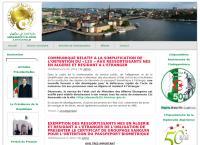 Nettsted av Algeries Ambassade