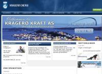 Nettsted av Kragerø Energi AS