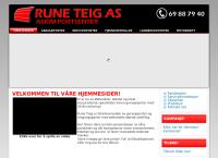 Nettsted av Rune Teig AS - Askim Portsenter
