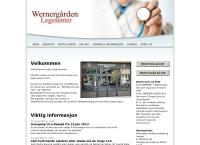 Nettsted av Wernergården Legesenter Da