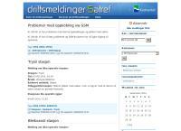 Nettsted av Statens kartverk - SATREF